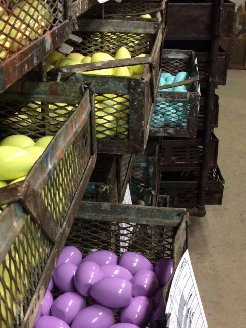 Wood eggs for White House Easter Egg Roll